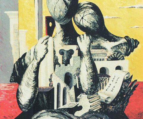 """Fig. 4 - Falsario di Giorgio de Chirico, """"Archeologi"""""""