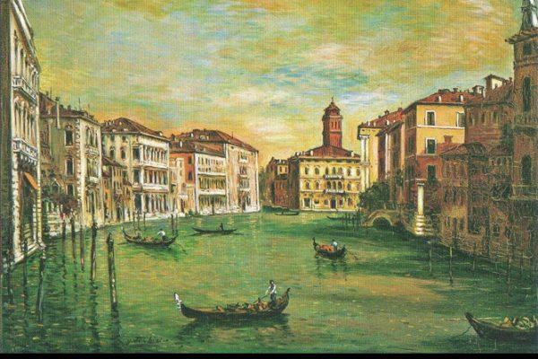 """Fig. 1 - Renato Peretti, """"Venezia"""""""