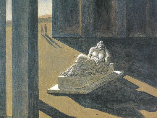 """Fig. 2 - Giorgio de Chirico, """"Souvenir d'Italie"""" 1926"""
